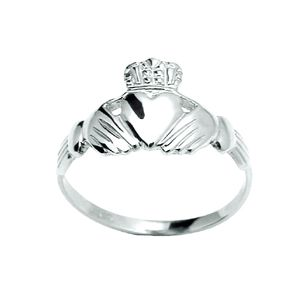 Image of Silver Ring - Claddagh (31054'P)