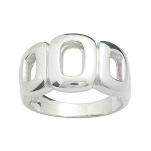 Image of Silver Ring - Circles (34352'P)