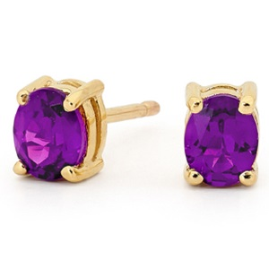 Amethyst Earrings 51415AM