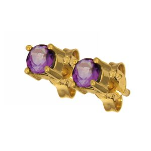 Amethyst Earrings 51441AM40