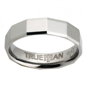 Tungsten Mens Ring - 81038ST