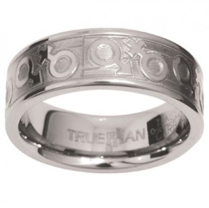 Image of Tungsten Ring - 81145Z1 (81145Z1)