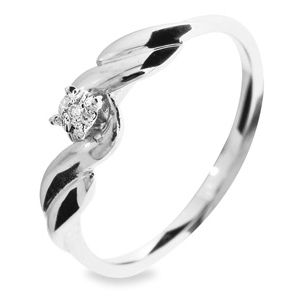 Diamond White Gold Ring (W21706)