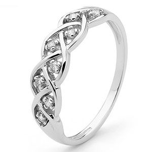 Image of Diamond White Gold Ring - Dreamweaver (W23280)