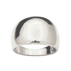 Image of White Gold Ring - Dome (W42256)