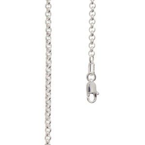 Image of Silver Necklace - Belcher Chain 2.00mm x 55cm (1402155)