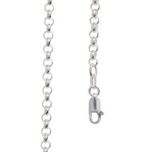 Image of Silver Necklace - Belcher Chain 3.00mm x 45cm (1402245)