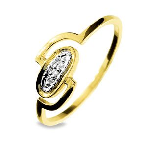 Image of Diamond Gold Ring - Oval (25111)