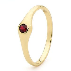 Image of Ruby Gold Ring (25154/CR)