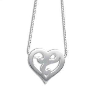 Image of Silver Pendant - Heart (35148)