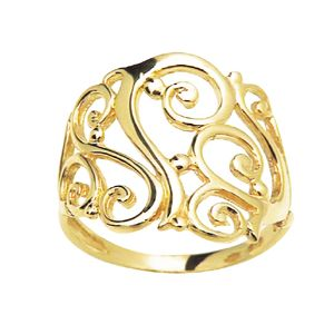 Image of Gold Ring - Celtic Filigree (41931)