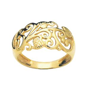 Image of Gold Ring - Filigree Ivy (42200)
