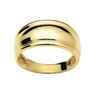 Image of Gold Ring - Dome Edge (42748)