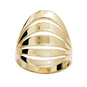 Image of Gold Ring - Dome Split (44983)