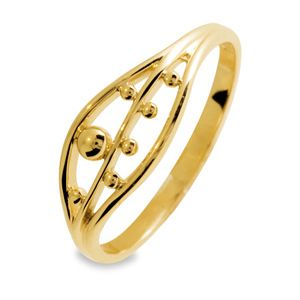 Image of Gold Ring - Peapod (45064)
