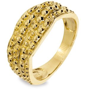 Image of Gold Ring - Texture (45067)