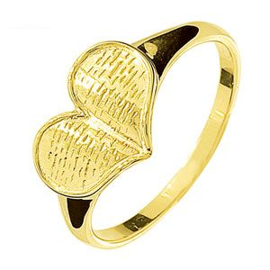 Image of Gold Ring - Heart Book (45119)