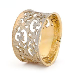 Image of Gold Ring - Filigree (45275)