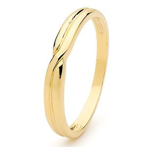 Image of Gold Ring - Wedding Band (45336)