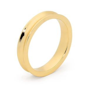 Image of Gold Ring - Wedding Concave Band (45501)