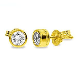 Image of Diamond Gold Earrings .30ct (50116/B30)