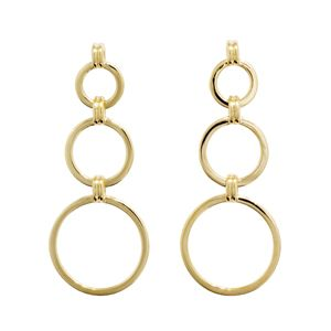Image of Gold Earrings - Circle (54970)