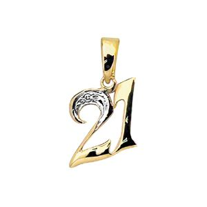 Image of Diamond Gold Pendant - 21 (61396/21)