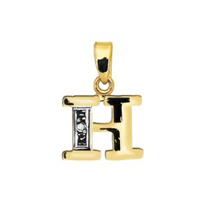 Image of Diamond Gold Pendant - H Initial (62050/H)