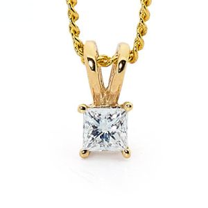 Image of Diamond Gold Pendant .18ct (65505/B18)