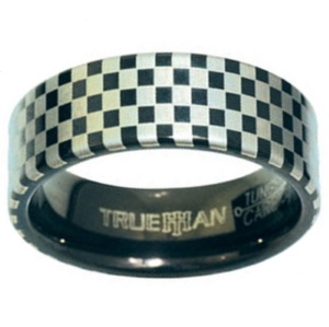 Image of Tungsten Ring - 81136ST (81136ST)