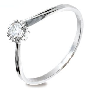 Image of Diamond Platinum Ring - Engagement (PT25231A15)