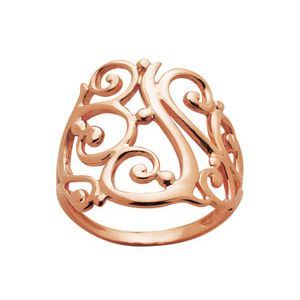 Image of Rose Gold Ring - Filigree (R41931)