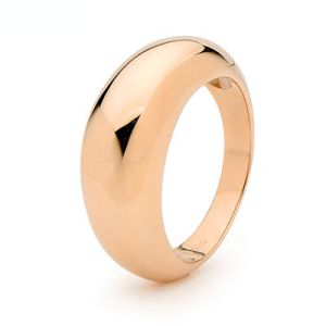 Image of Rose Gold Ring - Dome 8mm (R45422)