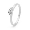 Diamond Platinum Ring - Eternity Ring .02ct