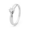 Diamond White Gold Ring - Engagment